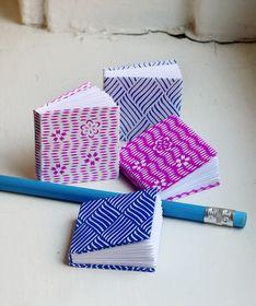 How About Orange: Make origami mini paper books