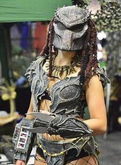 Predator Girl Machiko Noguchi by Predatorgroupie.deviantart.com #cosplay