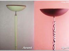 Customiser une vieille lampe halogène. • Hellocoton.fr