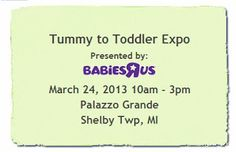 Enter for a chance to win a pair of tickets to the Tummy To Toddler Expo from: @MetroDetroitMom