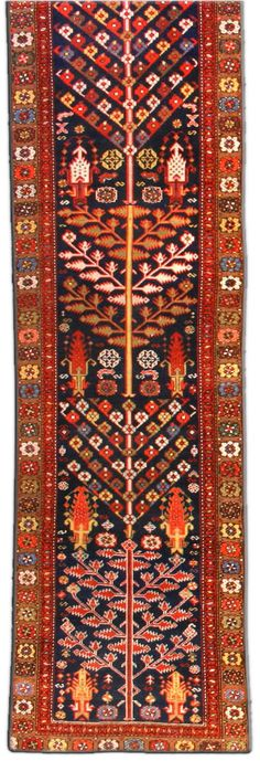 guide to oriental rugs : characteristic motif of the different