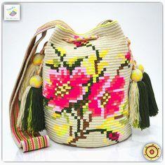 Wayuu bag double strands รุ่น Special flower Premium quality ⭕️Sol out⭕️ •ฐาน 8.5 นิ้ว สูง 11นิ้ว •สายยาว 108cm. •ฟรี Ems ขอบคุณคุณลูกค้ามากๆค่ะ  Unique style by wayuukiss FB ➡️ WayuuKiss Line ➡️ @wayuukiss ( มี@นำหน้าค่ะ) IG ➡️ wayuukiss =accept credit card,paypal== #wayuukiss #wayuubag #popularbikini #กระเป๋าพลอยเฌอมาลย์ #colombia #importthailand #summerbag #hotitem #mochilabag #mochilas #bikini #kinni #wayuubikini #popularbikini #กระเป๋าพลอยเฌอมาลย์ #colombia #importthailand #summerb...