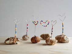 DIY, Piedras- Mensaje con Corazón