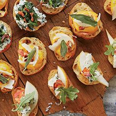 Provide a variety of toppings for Crostini. To get a head-start to entertaining, Crostini may be made one day ahead and stored in a...