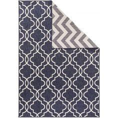 Reversible Rug Terrazzo Grey/Blue Terrazzo Flooring, Navy Rug, Modern Carpet, Living Room Carpet, Blue Art, One Design, Soft Furnishings, Vintage Patterns, Colorful Interiors