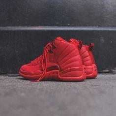 0627d3e38e7af Nike Air Jordan 12 Retro - Gym Red   Black