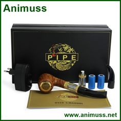 Gift package 900mah battery capacity vaporizer pipe wholesale E Pipe 618 Electronic Cigarettes 1200 Puffs
