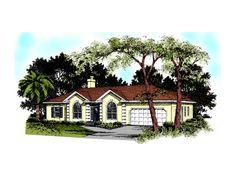 Boland Bay Ranch Home  from houseplansandmore.com