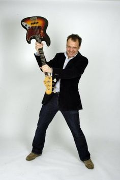 Guy Pratt.  Guy's played with a tonne of folks but most notably the post-Roger Waters Pink Floyd.  On top of being a great player, he is easily the funniest bass player out there.  Just check out his Youtube videos and see what I mean.