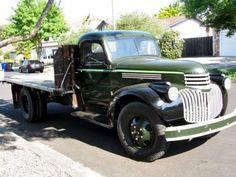 1945 Chevrolet Flatbed Grape Hauler Napa Valley For Sale Front