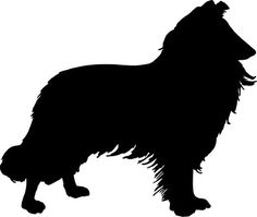 collie silhouette | Use these free images for your websites, art projects, reports, and ...