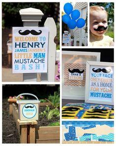 Mrs. Wigglebottom: henry's little man mustache bash