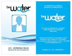 Carnets de Personal Be Water