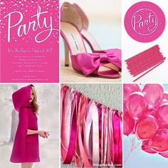 Pretty in Hot Pink Sweet 16 Party