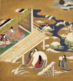 Genji Monogatari, by Tosa Mitsuoki (1617–1691), Japanese