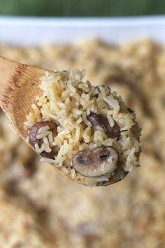 Mushroom Rice Pilaf 2