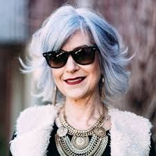 Image result for french woman hair over 60 advanced style