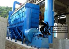 Cyclone Dust Collector Advantages by Xianrun Blower, www.lxrfan.com, xrblower@gmail.com  (1) No moving parts inside the cyclone dust collector, and easy maintenance; (2) Convenient production and management; (3) To deal with the same air volume, the cyclone dust collector has, smaller volume, simpler structure, lower price; (4) As preliminary dust collector, the cyclone dust collector can be installed vertically, and easy to use;