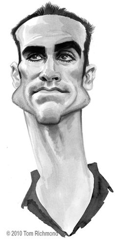 "Nestor Carbonell from ""Lost""  (by Tom Richmond)"