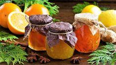 Jak udělat marmeládu z pomerančů? Vyzkoušejte recepty s rumem nebo zázvorem Stuffed Mushrooms, Coconut, Fruit, Vegetables, Ethnic Recipes, Food, Stuff Mushrooms, Vegetable Recipes, Eten