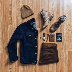 Awesome rugged combo from @cuffington the 3sixteen jacket is amazing Follow @runnineverlong on Instagram for more inspiration.
