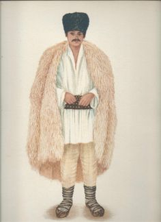 """Popular Roumanian Dress A Work Completed and Encouraged by the Initiative of His Majesty King Carol II Under the Care of Professor Dimitri Gusti By Alexandrina Enachescu-Cantemire Printed by """"Scrisul Romanesc Craiova, 1939 Gorilla Suit, Cloak, San Jose, Anthropology, Perception, Traditional Art, Romania, Fur Coat, Costumes"""