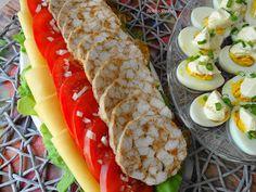 Słodko Słodka: Mozaika Drobiowa z Piekarnika na Kanapki. Zucchini, Grilling, Vegetables, Impreza, Food, Crickets, Veggie Food, Vegetable Recipes, Meals