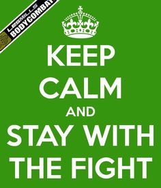 Stay with the fight. BodyCombat <3
