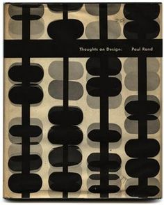 Paul Rand  1946 (The New York School) cover for Thoughts on Design