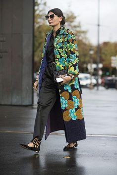 20 Looks with Giovanna Battaglia ( Street style) Glamsugar.com Giovanna Battaglia