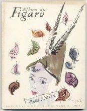 Album du Figaro 1948 N°16, Autumn, Raymond Baumgartner, René Gruau, Christian Dior, Jacques Fath, Jeanne Lanvin