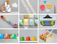 Some Colorful Ideas For #office #supplies! Things Donu0027t Have To Be