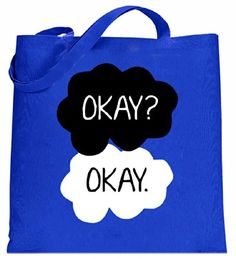"BeWild Brand - ""Okay? Okay."" Quote The Fault In Our Stars Tote Bag #1625-PS (Royal Blue) BeWild http://www.amazon.com/dp/B00KO6W31E/ref=cm_sw_r_pi_dp_hvBYtb1VHGYZJTG2"