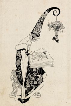 Weird and Wonderful: fairy-tale illustrations by Sveta Dorosheva, via Behance Art And Illustration, Fairy Tale Illustrations, Food Illustrations, Fairytale Art, Alphonse Mucha, Art Graphique, Weird And Wonderful, Art Design, Illustrators
