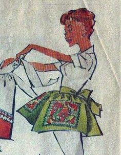 Willow Homestead: Apron Challenge : Let's Begin Modern Aprons, Vintage Sewing Patterns, Challenges, Let It Be, Homestead