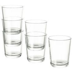 Glass og mugger til hverdags og fest - IKEA Carafe, Pint Glass, Clear Glass, Recycling Facility, Country Farmhouse Decor, Olay, Drinking Tea, Tableware, Colors