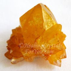 Spirit Quartz Crystals or Cactus Quartz from South Africa assist spiritual growth, move you spiritually to the next level. Lovely range of colors, tiny crystals radiate energy outwards. Healing Crystals For You, Crystal Healing Stones, Stones And Crystals, Quartz Crystal, Spirit Quartz, Crystal Meanings, Spiritual Growth, Meant To Be, Golden Yellow
