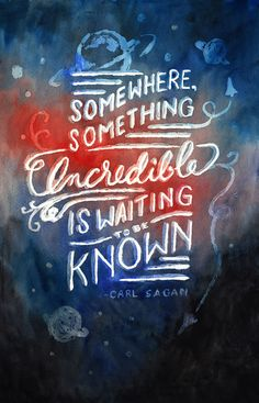Somewhere something incredible is waiting to be known.  Jessica Roush's Portfolio