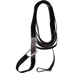 Our Petco Adjustable Recall Training Leash for Dogs is extra long and perfect for recall training. This training leash can be adjusted by two-feet increments and clipped around waist/body for hands-free use in walking or hiking. Leash features an upgraded tough metal clip that swivels completely to keep you and your pet from becoming entangled. Made with sturdy nylon for durability.