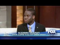 HAROLD EKEY: A HS Senior Accepted Into ALL 8 Ivy League Schools  in Long Island