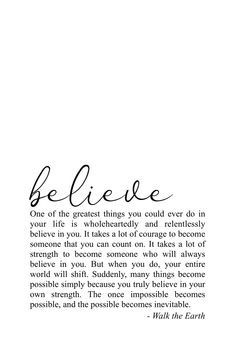 Believe in yourself powerful motivational quotes & poetry ❤️You can find Believe quotes and more on our website.Believe in yourself powerful motivational quotes & poetry ❤️ Powerful Motivational Quotes, True Quotes, Words Quotes, Positive Quotes, Inspirational Quotes, Sport Quotes, Positive Thoughts, Quotes Quotes, Qoutes