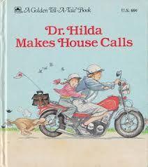 Marigold, Dr. Hilda Makes House Calls, vet, veterinarian, community helpers, motorcycles, sickness, sick animals, helping, animals, pets, picnic, ,