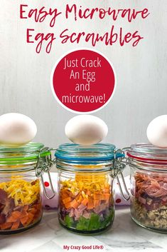 These Just Crack an Egg Copycat recipes are great for breakfast meal prep! They&… These Just Crack an Egg Copycat recipes are great for breakfast meal prep! They're healthy and inexpensive, and can be. Easy Meal Prep, Healthy Meal Prep, Healthy Breakfast Recipes, Easy Meals, Healthy Recipes, Healthy Breakfasts, Meal Prep Low Carb, Veggie Meal Prep, Eating Healthy