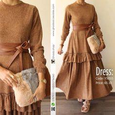 Clothes for women classy simple belts 45 ideas Hijab Style Dress, Modest Fashion Hijab, Abaya Fashion, Hijab Outfit, Muslim Fashion, Couture Fashion, Fashion Dresses, Muslimah Clothing, Hijab Evening Dress