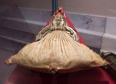 leather purse, ca 1430, Kunsthistorische Museum, Armoury, Vienna