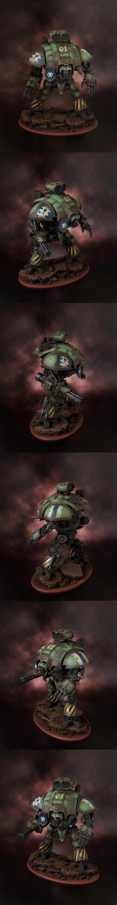 40k - Imperial Knight Titan Warden by highelf