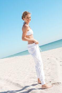 Pantalones para la playa, un must!