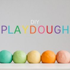 The ultimate play dough recipe - silky smooth and smells great! #craftgawker