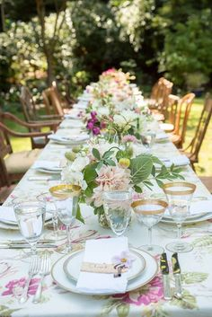 For a garden party w