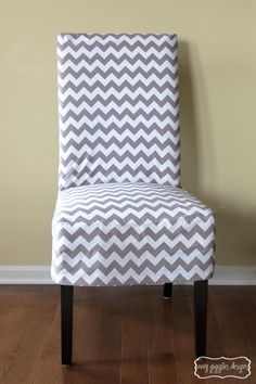 The ladies in the leasing office absolutely love chevron - especially as part of their wardrobes! These chevron chairs would make an awesome addition to any apartment!